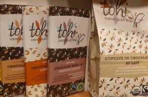 Chocolat bio Tohi, Belgique