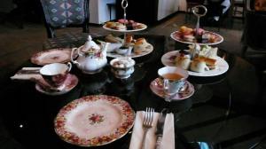 L'afternoon tea du Parlour au restaurant Sketch