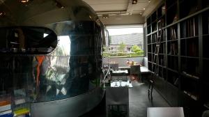 La caravane de l'espace voyage