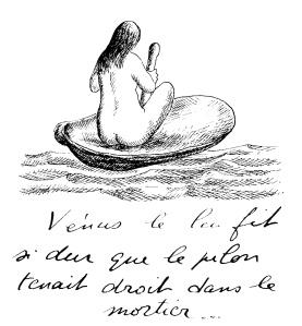 Venus le lui fit si dur